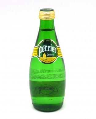 ВОДА минеральная газированная со вкусом лимона стекло 330 мл. Perrier