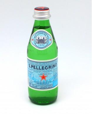 ВОДА минеральная газированная стекло 250 мл. S.Pellegrino