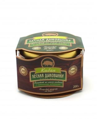 Па/ штет из мяса кабана с сушеными яблоками (стекло) 200 гр