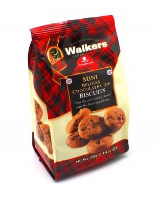 Мини-печенье Walkers песочное с Бельгийским шоколадом 125 г (полимер)