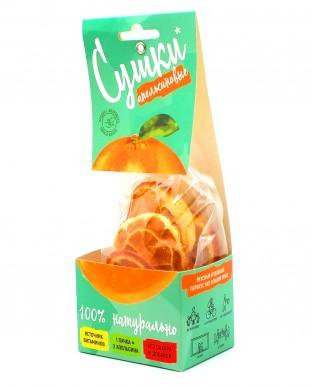 """Фруктовые чипсы """"Сушки"""" Апельсин 30 гр"""
