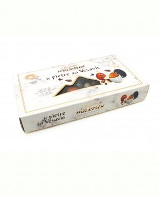 Миндаль в белом и темном шоколаде Камни Везувия, MAXTRIS, 1 / кг