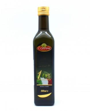 Масло оливковое первого холодного отжима 100%, 0,5 л