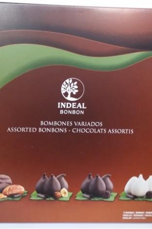 Ассорти конфет в шоколаде INDEAL 12 шт. 216 г.